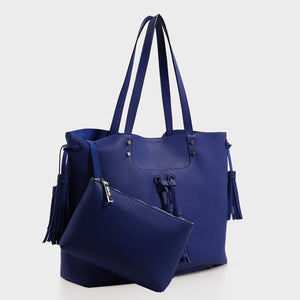 Izzy & Ali | Ali Tote in blue