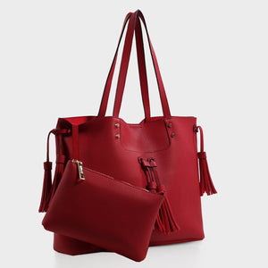 Izzy & Ali | Ali Tote in red