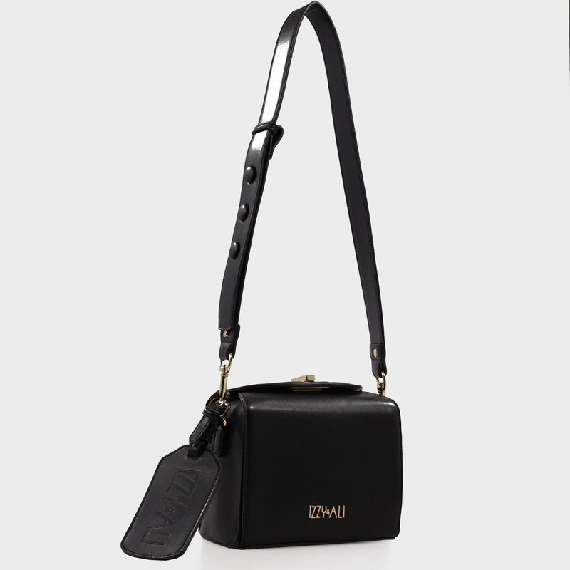 Izzy and Ali Vegan Leather Handbags - Alma Shoulder Editorial