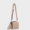 Izzy and Ali Vegan Leather Handbags - Alma Shoulder in blush