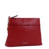 Izzy and Ali Vegan Leather Handbags - Bae Classic Clutch Red