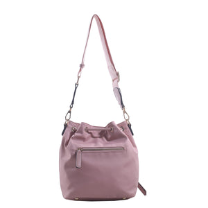 Izzy and Ali Vegan Leather Handbags - Daio Drawstring