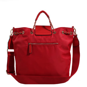 Izzy and Ali Vegan Leather Handbags - Firenze Drawstring
