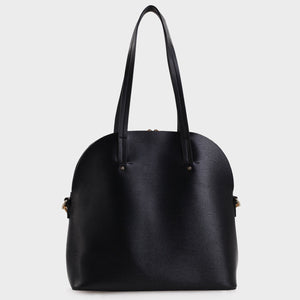 Izzy and Ali Vegan Leather Handbags - Eliza Tote in black