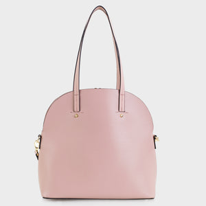 Izzy and Ali Vegan Leather Handbags - Eliza Tote in blush