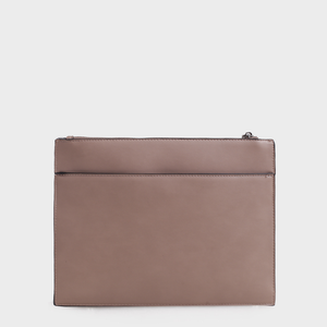 Izzy and Ali Vegan Leather Handbags - Back of Agnes Clutch