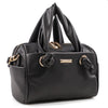 Izzy and Ali Vegan Leather Handbags - Mini Satchel Black
