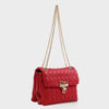 Izzy and Ali Vegan Leather Handbags - Adele Shoulder in red