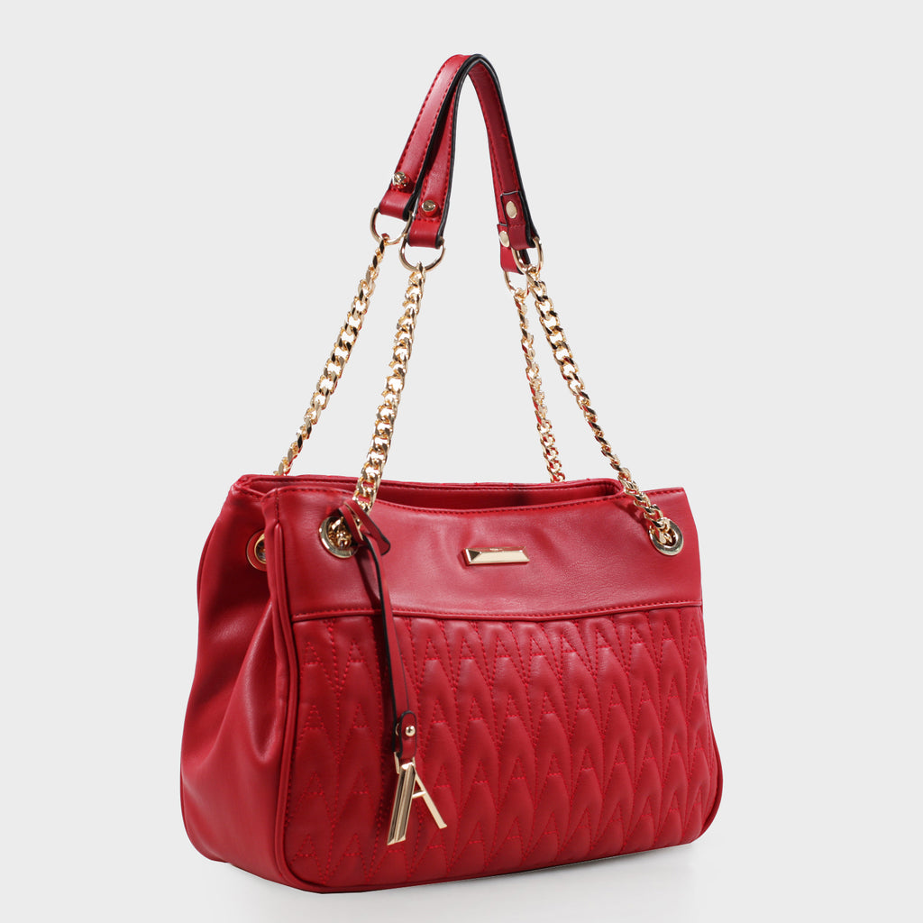 Izzy & Ali | Amelie Shoulder in red
