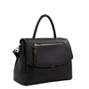 Izzy and Ali Vegan Leather Handbags - Chic Satchel Black