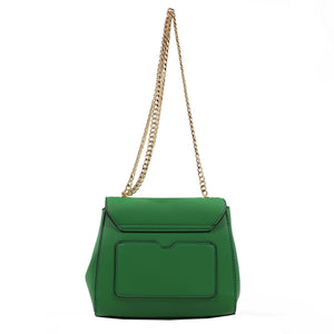 Izzy and Ali Vegan Leather Handbags - Mini Satchel with Chain