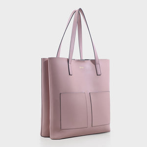 Izzy and Ali Vegan Leather Handbags - Cory Tote in blush