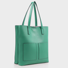 Izzy and Ali Vegan Leather Handbags - Cory Tote in green