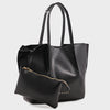 Izzy and Ali Vegan Leather Handbags - Catskill Tote in black
