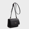 Izzy and Ali Vegan Leather Handbags - Cory Crossbody in black
