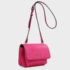Izzy and Ali Vegan Leather Handbags - Cory Crossbody in fuchsia