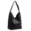 Izzy and Ali Vegan Leather Handbags - Chic Tote Black