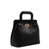 Izzy and Ali Vegan Leather Handbags - Classic Mini Satchel Black