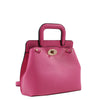 Izzy and Ali Vegan Leather Handbags - Classic Mini Satchel Pink