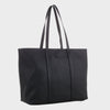 Izzy and Ali Vegan Leather Handbags - Dimitri Tote EW in black