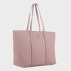 Izzy and Ali Vegan Leather Handbags - Dimitri Tote EW in mauve