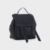 Izzy and Ali Vegan Leather Handbags - Dimitri Backpack in black