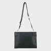Izzy and Ali Vegan Leather Handbags - Chic Flat Messenger