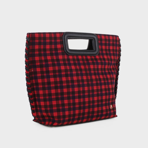 Pisa Clutch Plaid