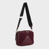 Izzy & Ali | Monza Crossbody in wine