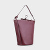 Izzy and Ali Vegan Leather Handbags - Prato Shoulder in wine