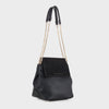 Izzy and Ali Vegan Leather Handbags - Carly Shoulder in black