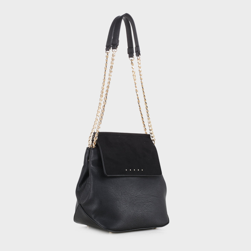 Izzy & Ali | Carly Shoulder in black