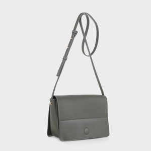 Izzy and Ali Vegan Leather Handbags - Parma Crossbody in olive