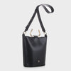 Izzy and Ali Vegan Leather Handbags - Capri Tote in black