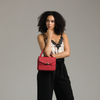 Izzy and Ali Vegan Leather Handbags - Venice Crossbody Editorial