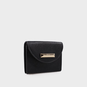 Izzy and Ali Vegan Leather Handbags - Turin Cardholder in black