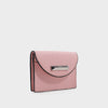 Izzy and Ali Vegan Leather Handbags - Turin Cardholder in blush