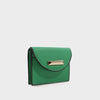 Izzy and Ali Vegan Leather Handbags - Turin Cardholder in green