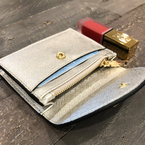 Izzy and Ali Vegan Leather Handbags - Turin Cardholder Interior