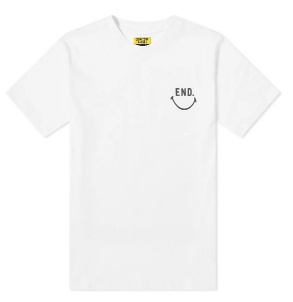 END. x Chinatown Market Smiley Face Tee - GreenShineCBD