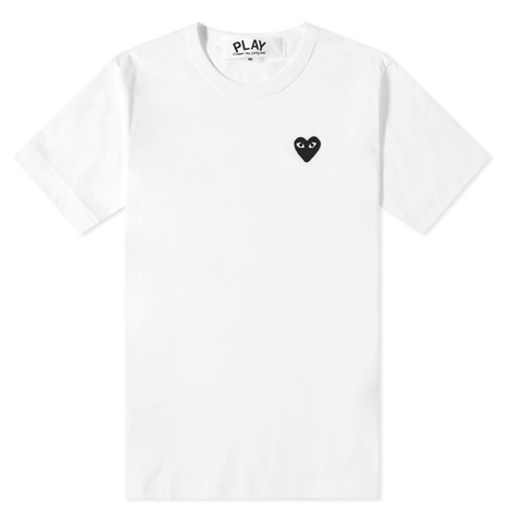 Comme des Garcons Play Basic Logo Tee - GreenShineCBD