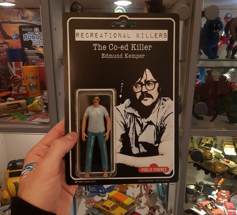 Recreational Killers-Edmund Kemper by Public Fugures - GreenShineCBD