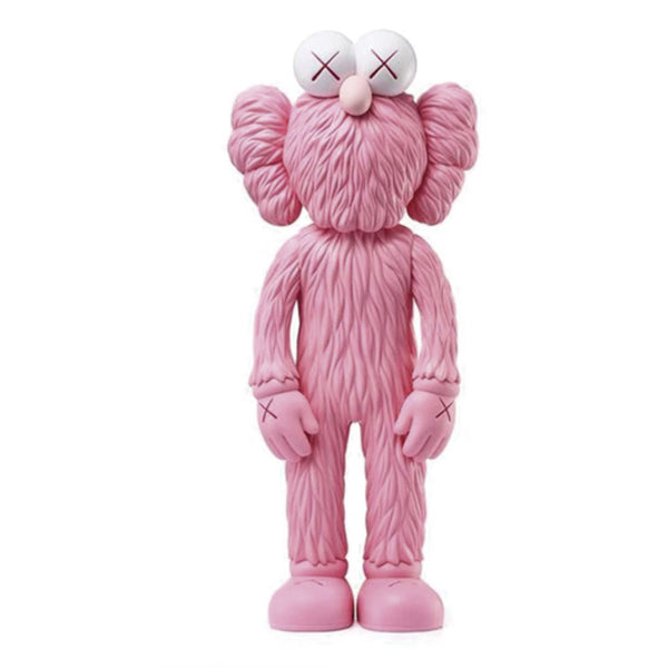 KAWS BFF Open Edition Vinyl Figure Pink - GreenShineCBD