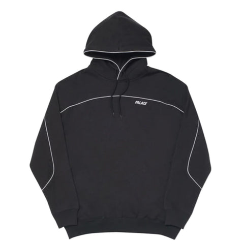 Palace Reflecto Hoodie Black - GreenShineCBD