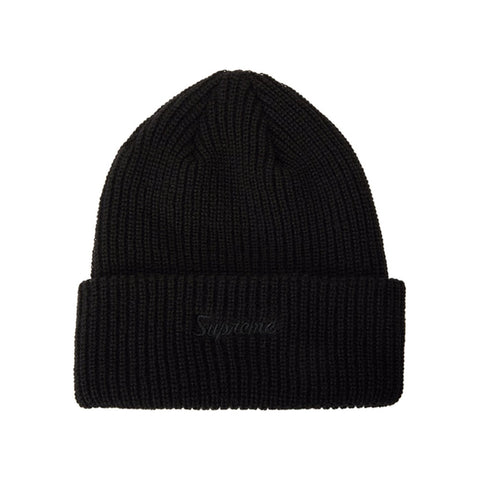 Supreme Loose Gauge Beanie (FW19) Black - GreenShineCBD