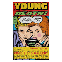Young Death by Frank Kozik - GreenShineCBD