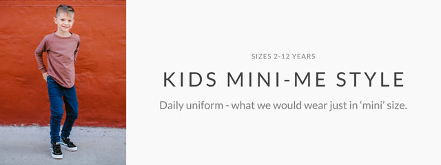 Kids mini-me shop