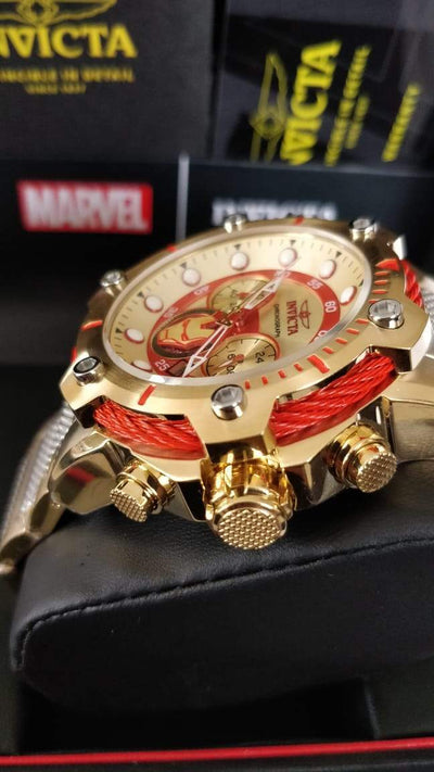 16f02167bc0d Invicta Marvel Iron Man acero inoxidable - Relojería Kairos Costa Rica