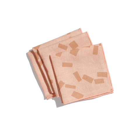 'Figures' Cocktail Napkins - Set of 4