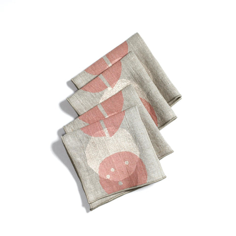 'Pods' Cocktail Napkins - Set of 4